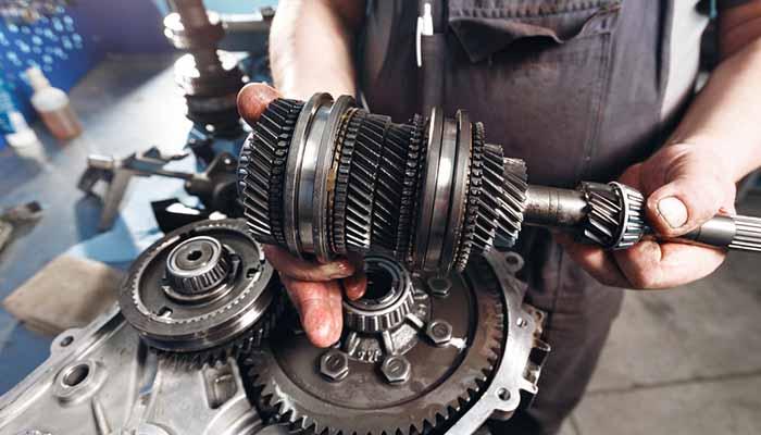 fixing gearbox