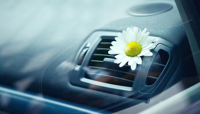 interior car air con